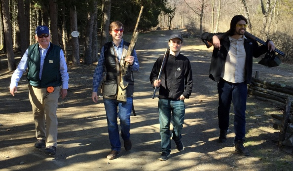 Shooting Clays at Orvis