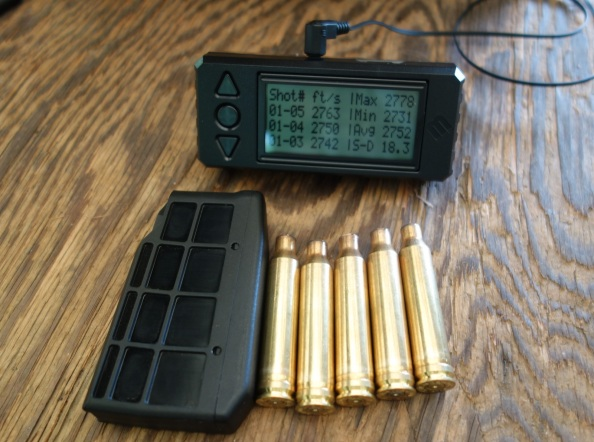 140 gr Remington Core-Lokt @ 2750 ftps