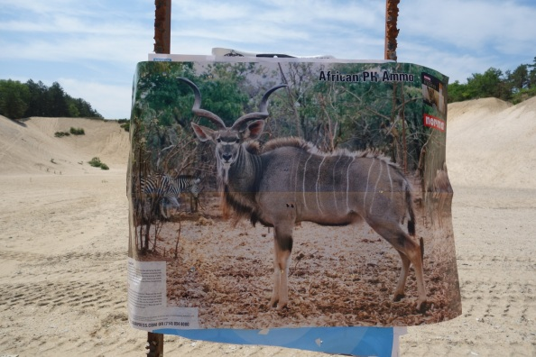 Reduced Size Kudu (simulates 400 yards)